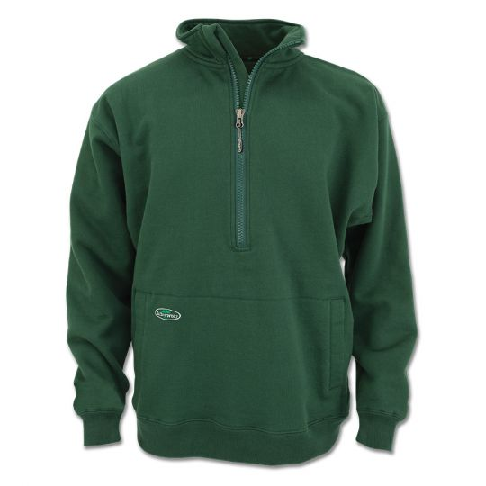 Double Thick 1/2 Zip Sweatshirt